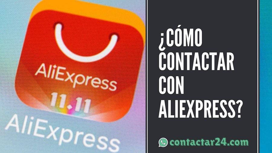 como contactar aliexpress