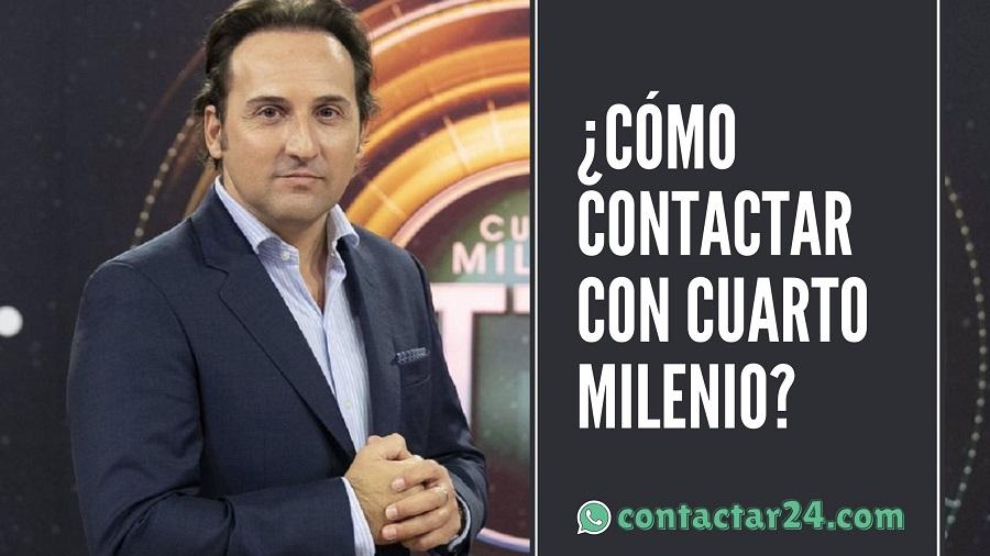 como contactar cuarto milenio