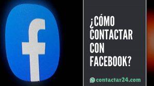 como contactar facebook