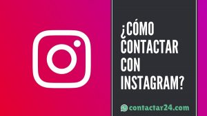 como contactar instagram