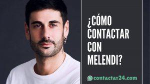 como contactar melendi