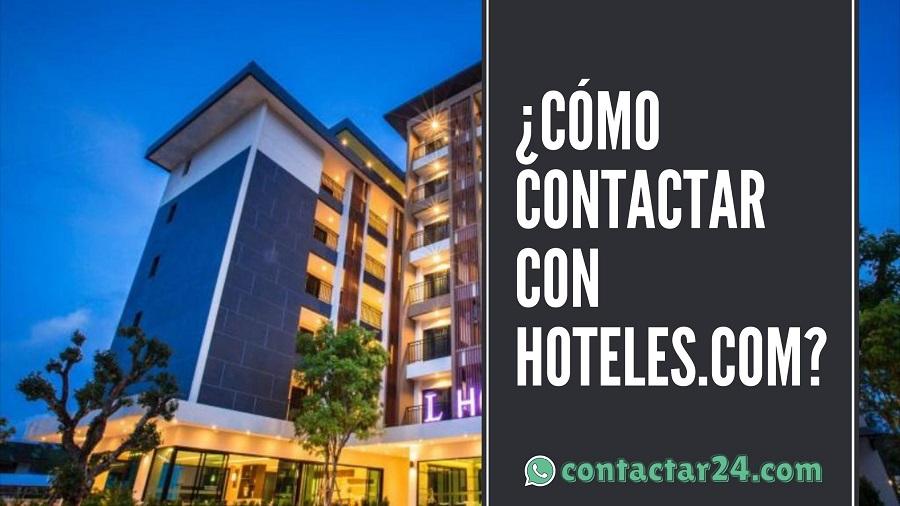 como contactar hoteles com