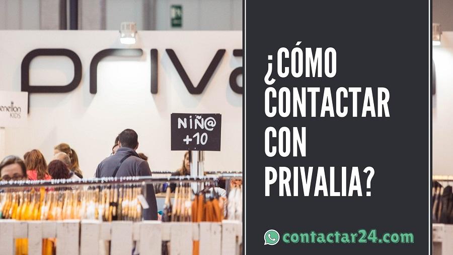 como contactar privalia